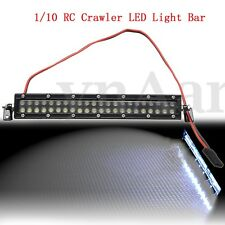 44 LED 1:10 Scale RC Car Crawler Accessories Roof Super Bright Light Lamp Bar