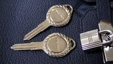 ## ONE Original Nissan Figaro Key Blank uncut, BRAND NEW Mega RARE ##