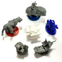 Lot of 6 Dungeons & Dragon D&D Miniatures Game Figure Collection Toys game