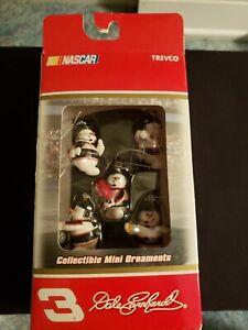 Trevco 2004 Dale Earnhardt #3 Snowman Pit Crew Collectible Mini Ornaments