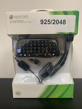 Microsoft Xbox 360 Chatpad w/ Headset Pack - Brand New & Sealed