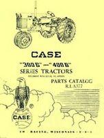 Case 300B 400B 300 400 B Series Parts Catalog Manual