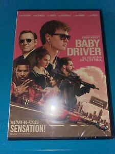 Baby Driver (DVD, 2017, Widescreen) Ansel Elgort, Kevin Spacey, Jon Hamm NEW!