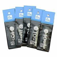 10 Elu E65508 Hss-G Estremo 3.5mm Metallo Trapano Punte (5 Confezioni Di 2)