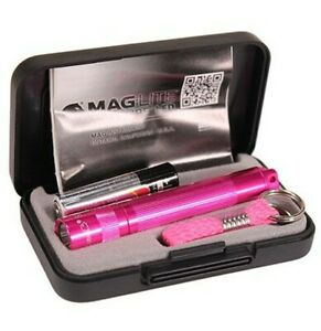 MAGLITE SOLITAIRE LED Torch 1 AAA Pink NBCF, Presentation Box 47 Lumens