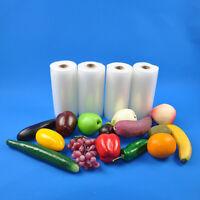 "4 6""X50' 4 mil Commercial Embossed Vacuum Sealer Bags Food Saver Rolls"