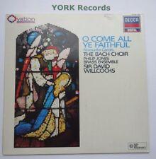Bach Choir-O Come All Ye Faithful-Excelente Con Disco Lp Decca 417 898-1
