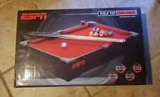 """20"""" Small ESPN Tabletop Mini Toy Billiard Pool Table Top- For FANS by FANS"""