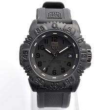 Luminox 3051.BO Navy Seal Colormark Quartz Black Rubber Strap 44mm Men's Watch