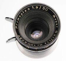 Meyer-Gorlitz 3cm f1.9 Primoplan NEX mount  #1004437