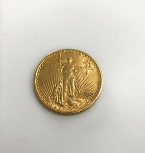 1910 $20 Gold Saint Gaudens Double Eagle twenty dollar coin