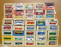 LLEDO DIECAST MODELS 1932 AEC SINGLE DECK BUS FROM £1.99 CHOOSE FROM LIST LOT 17