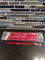 12 PACK Sealed J.R. MOON PENCIL COMPANY B46-2 TRY-REX With ERASER #2 Vintage