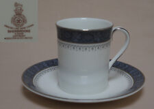 """Royal Doulton """"Sherbrooke"""" COFFEE CAN & SAUCER"""