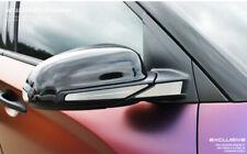 Metal Silver Exterior Side Mirror Decal Plate Panel for Hyundai KONA 2017-2019
