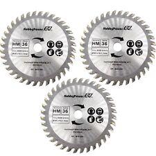 3 Stück HM Kreissägeblatt 85 x 10 mm 36 Zähne Mini Sägeblatt Handkreissäge / B30