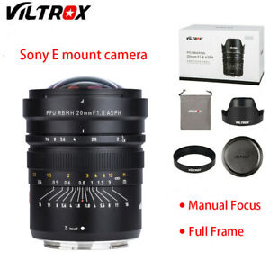 Viltrox 20mm F1.8  Lens Wide Angle Focus Full Frame for Sony A73 A7R3 A7R2 A72