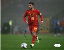 Belgium Eden Hazard Autographed Signed 8x10 Photo JSA COA #7