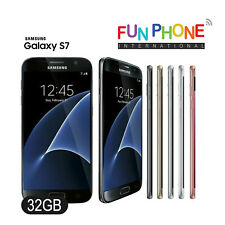 Samsung Galaxy S7 32GB - GSM Unlocked Smartphone Choose Color Single SIM