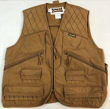 Gamehide Khaki Hunting Wear Shooting Vest Men's Size Large EUC