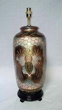 Carved Porcelain Table Lamp NB2025