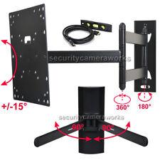 """Full Motion Tilt Swivel TV Wall Mount 24-42"""" LCD LED Screen+ DVD DVR Bracket bix"""