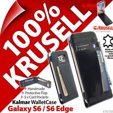 Krusell Kalmar Wallet Case Cover Folio Flip for Samsung Galaxy S6 / S6 Edge