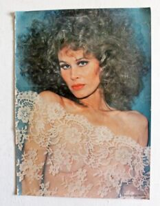 Original 1977 Actress Karen Black Wearing See-Thru Lace Poster 20 x 28 In.