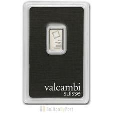 More details for valcambi 2.5 gram platinum bar minted