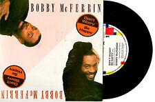 "BOBBY MCFERRIN - DON'T WORRY BE HAPPY - 7"" 45 VINYL RECORD PIC SLV 1988"