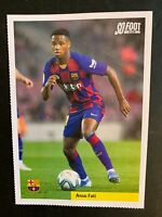 FICHE SO FOOT French Issue Magazine ROOKIE ANSU FATI 2019 FC BARCELONA