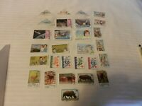 Lot of 28 Congo Stamps, Space, Princess Diana, Sports Endangered Wildlife