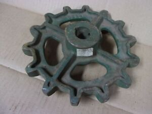 Vtg Antique 86SR Drive No. 62 Chain Sprocket New Idea Manure Spreader Hauler Old