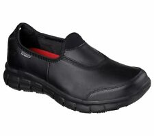 Skechers Work Relaxed Fit Sure Track Shoes Womens Slip Resistant Memory Foam