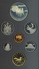 1992 Canada Double Dollar $1 Proof Coin Set COA NO BOX