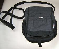 SWISSGEAR Mini Messenger Crossbody Travel Bag  Shoulder Small Black Nylon