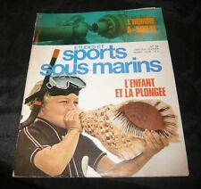 Etudes Et Sports Sous-Marins N° 38 la plongée marine
