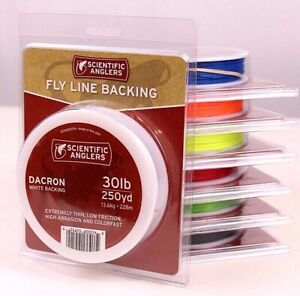 Scientific Anglers Dacron Fly Line Backing 250 yards 30 pound ALL COLORS