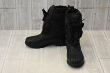 Keds Snow Day Plaid Snow Boot - Women's Size 8, Black