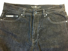 Ecko Unltd Men's Shorts Pants Size 34 Clothing Jeans Embroidered Black