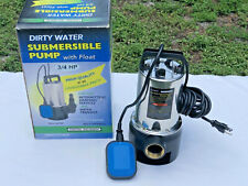 Central Machinery Dirty Water Submersible Pump