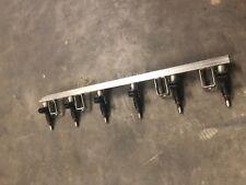 BMW e60 e90 e92 n52 n52n 6 cylinder fuel delivery rail w injectors 06-13