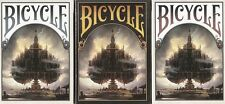 Bicycle Playing Cards (Kingdoms of a new world) - 3 Deck set RARE