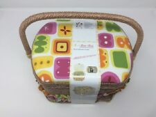Michley Sewing Basket with 41 Piece Kit
