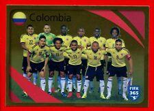 FIFA 365 2015-16 PANINI 2016 -Figurina Stiker- n. 854 - COLOMBIA - TEAM -New