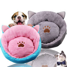 Small Pet Puppy Cat Dog Bed Cushion House Soft Winter Warm Kennel Mat Blanket