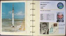 s1841) Raumfahrt Space Sammlung Mercury + Gemini Belege + Fotos mit Autogramm