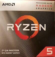 AMD Ryzen 5 3400G 3.7 GHz Quad-Core AM4 Processor with Vega 11 graphics