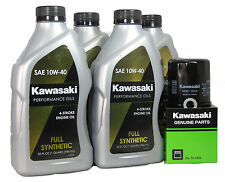 2009 Kawsaki NINJA ZX-6R Full Synthetic Oil Change Kit