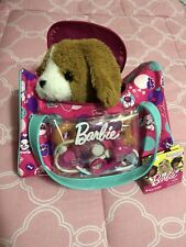 Barbie Kiss and Care Pet Doctor Set Electronic Puppy Interacts with Accessories